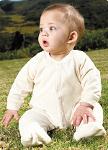 Pysjamas med føtter for baby
