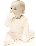 Pysjamas med votter for baby