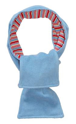 4f3260b2 Fleece-varer (Bomulls-fleece) Blå med striper - produktside