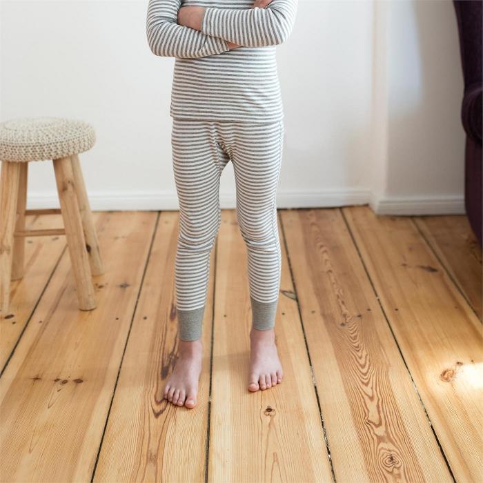 Longs (Finribbet) Grå striper - 25045