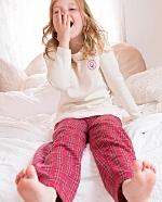 Todelt pyjamas (Int. og flanell) Rødrutet og Blårutet