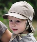 Baby-solhatt (UV-filter 80) Mørk kaki