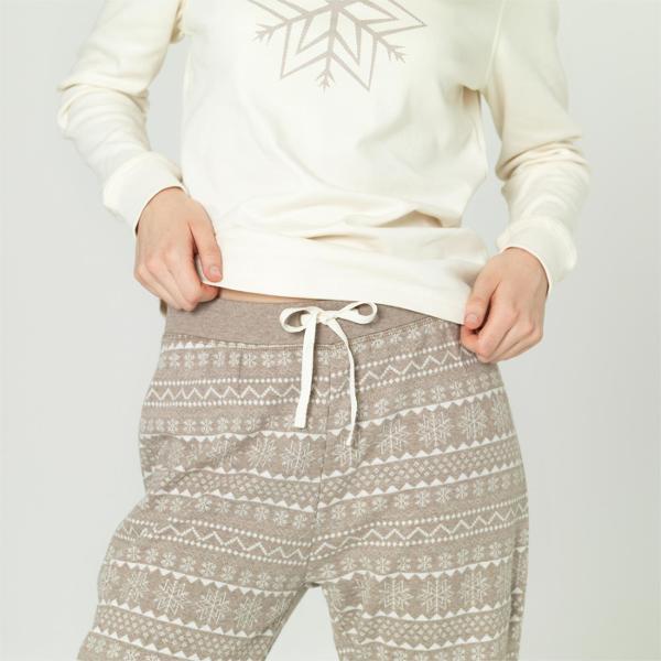 Pyjamas dame (Interlock) Gråbun